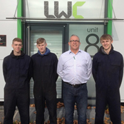 Additional Apprentices signed up for LWC