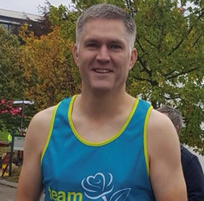 Michael raises over £3,000 for Charity