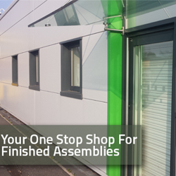 We have a new stainless steel and aluminium fabrication building!