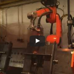 Second Manufacturing Robot delivered